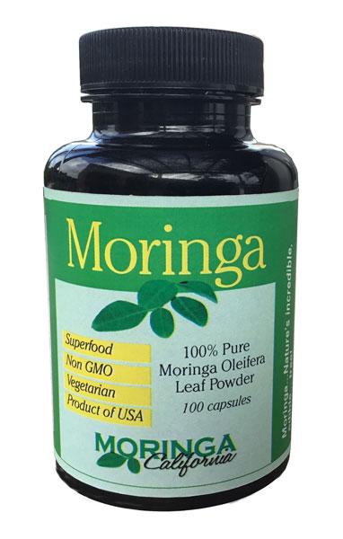 Moringa Oleifera Supplement (100 capsules)