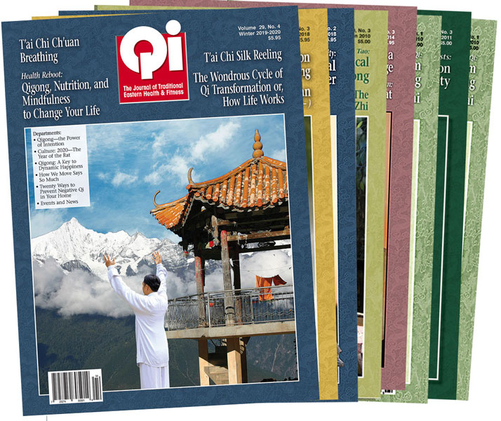 Qi Journal Domestic Subscription: 2 year (starts with next issue)