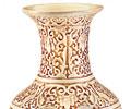 Mandarin Ivory Flower Vase