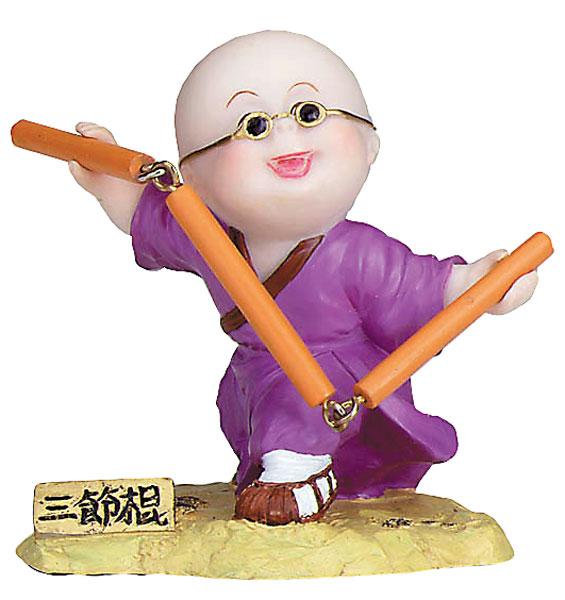 Kung Fu Kid with Nunchacks