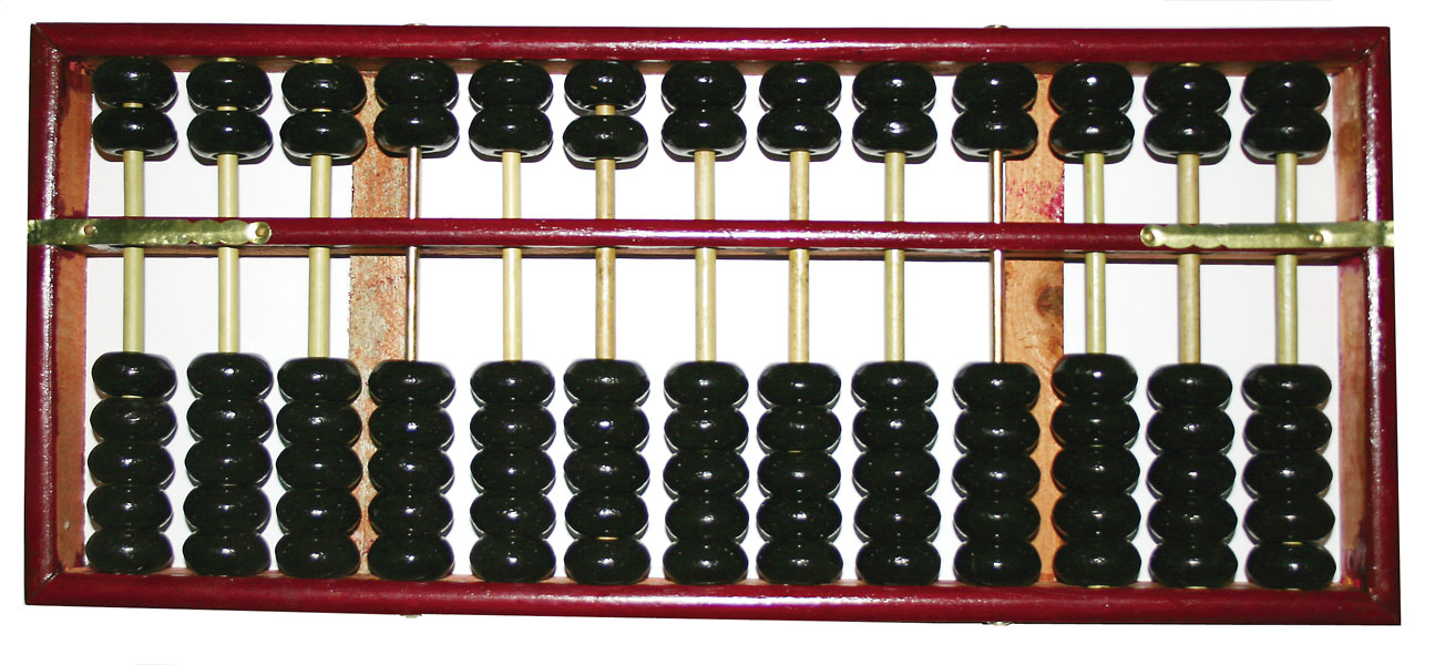 Chinese Abacus (Suan Pan)