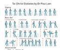 Tai Chi for Diabetes Wall Chart