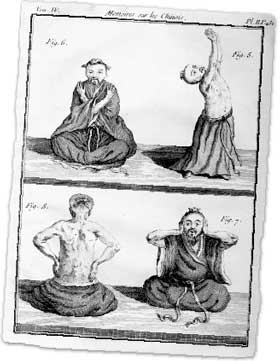 Daoist yogi practicing Nei Tan