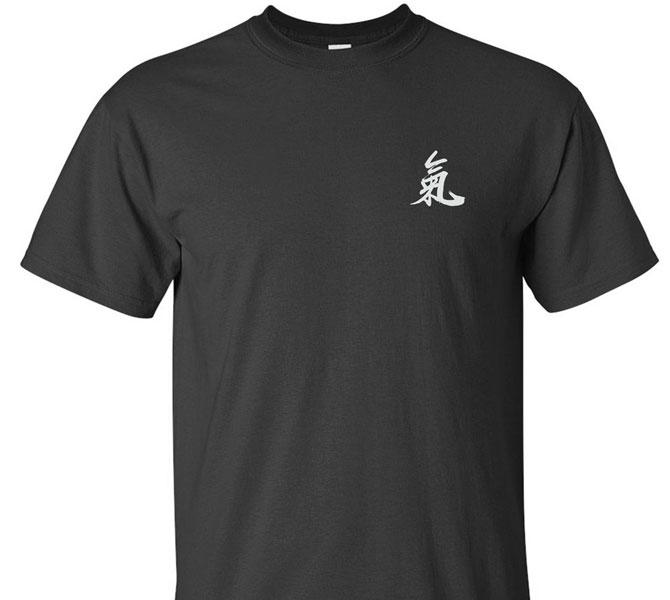 """Qi"" Calligraphy T-Shirt"