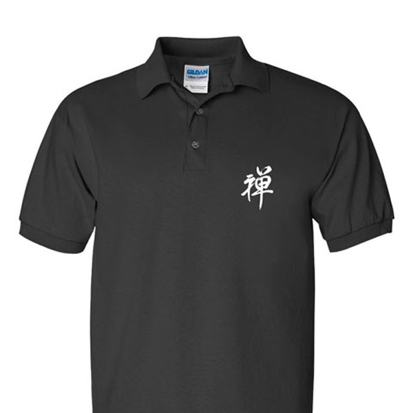 """Zen"" Calligraphy Sport Shirt"