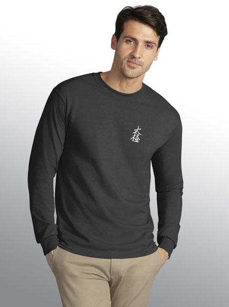 """Taiji"" (T'ai Chi) Calligraphy T-Shirt (Long Sleeve)"