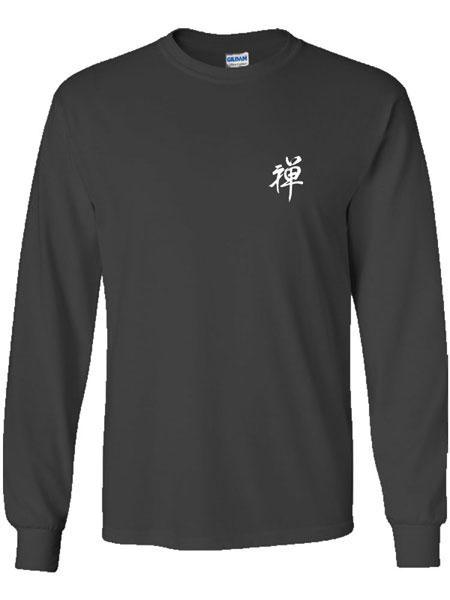 """Zen"" Calligraphy T-Shirt (Long Sleeve)"